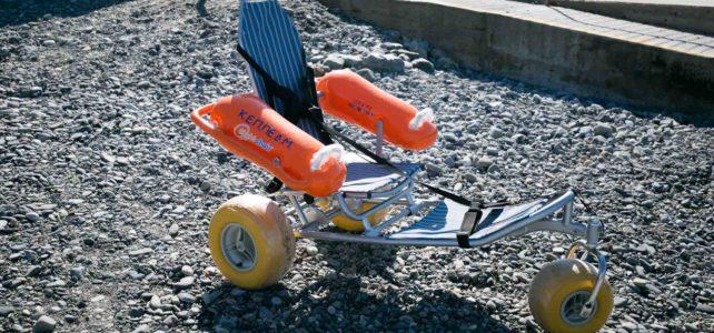 Προμήθεια αμφίβιου αναπηρικού αμαξίδιου για την παραλία Νεάπολης